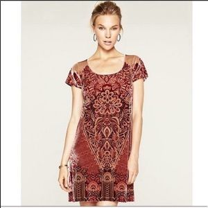 Holly Hock by Lucky Brand   Vintage velvet dress